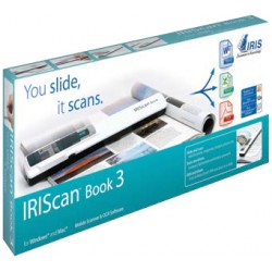 I.R.I.S. - IRIScan Book 3 Lápiz escáner 900 x 900DPI Blanco