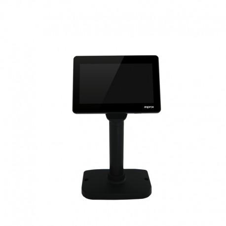 Approx - APPVFD02LCD muestra de clientes USB 20 Negro