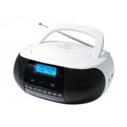 Sunstech - CRUSM400 Digital 2 W Negro, Blanco