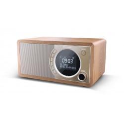 Sharp - DR-450(BR) radio Reloj Marrón
