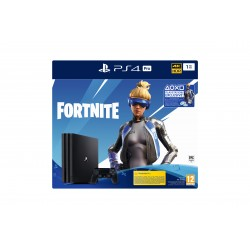Sony - PS4 Pro 1TB Gamma + Fortnite VCH (2019) Negro 1000 GB Wifi
