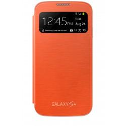 Samsung - S View funda para teléfono móvil Libro Naranja