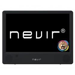 "Nevir - NVR-7302-TDT10P2 televisor portátil 25,4 cm (10"") LED 1024 x 600 Pixeles Negro"
