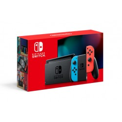 "Nintendo - Switch (New revised model) videoconsola portátil Negro, Azul, Rojo 15,8 cm (6.2"") 32 GB Wifi"