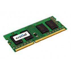 Crucial - PC3-12800 4GB 4GB DDR3 1600MHz módulo de memoria - 6714784