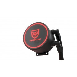 Nfortec - Hydrus V2 Refrigeración Líquida 240mm con Ventilador LED Red de 120mm (Compatible con AMD e Intel) - Colo