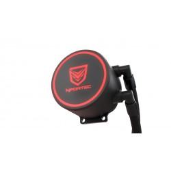 Nfortec - Hydrus V2 Refrigeración Líquida 120mm con Ventilador LED Red de 120mm (Compatible con AMD e Intel) - Colo