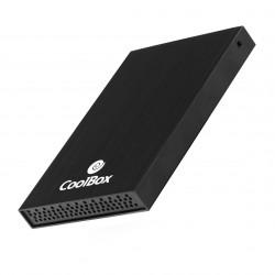 "CoolBox - SlimChase 2512 2.5"" Carcasa de disco duro/SSD Negro"