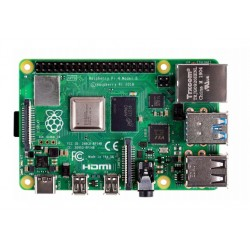 Raspberry Pi - 4 Model B placa de desarrollo 1,5 MHz BCM2711 - 22396999