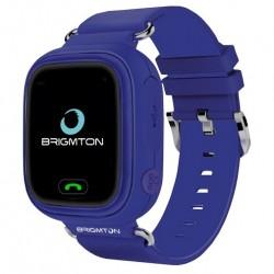 "Brigmton - BWATCH-KIDS-M reloj inteligente Púrpura LCD 3,1 cm (1.22"") Móvil GPS (satélite)"