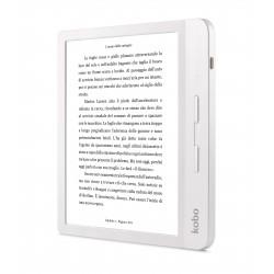 Rakuten Kobo - Libra H2O lectore de e-book Pantalla táctil 8 GB Wifi Blanco