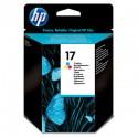 HP - 17 1 pieza(s) Original Rendimiento estándar Cian, Magenta, Amarillo