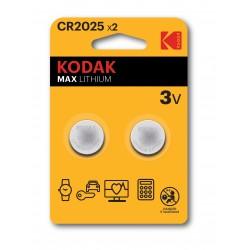 Kodak - CR2025 Batería de un solo uso Litio