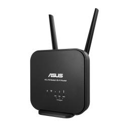 ASUS - 4G-N12 B1 router inalámbrico Banda única (2,4 GHz) Ethernet rápido Negro
