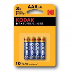 Kodak - AAA Batería de un solo uso Alcalino - 30952812