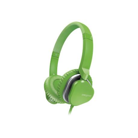 Creative Labs - Hitz MA2400 Verde Circumaural Diadema auricular