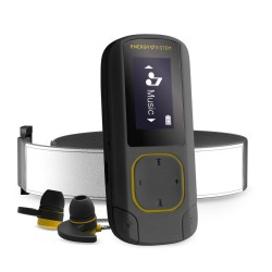 Energy Sistem - MP3 Clip BT Sport Amber Reproductor de MP3 Ámbar 16 GB