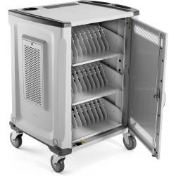 HP - 1HC89AA Armario de gestión y carga para dispositivos portátiles Gris