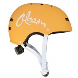 OLSSON and Brothers - S02CM0023 casco para bicicleta Casco clásico Casco para bicicleta urbana S/M Naranja
