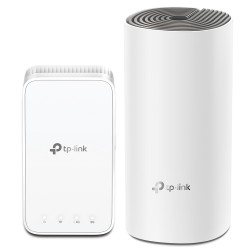 TP-LINK - DECO E3(2-PACK) mesh wi-fi system Blanco Externo Doble banda (2,4 GHz / 5 GHz) Wi-Fi 5 (802.11ac)