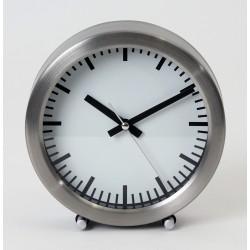 Platinet - PZAS reloj de repisa o sobre mesa Reloj de sobremesa de cuarzo Acero inoxidable