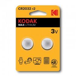 Kodak - CR2032 Batería de un solo uso Litio