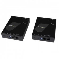 StarTech.com - Juego Kit Extensor de Vídeo y Audio HDMI IP por Red Gigabit Ethernet cable UTP cat6 RJ45 Conversor