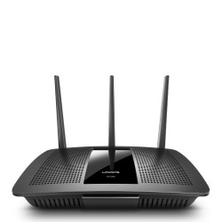 Linksys - EA7300 router inalámbrico Doble banda (2,4 GHz / 5 GHz) Gigabit Ethernet Negro