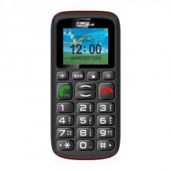 "MaxCom - MM428 4,57 cm (1.8"") 78 g Negro, Rojo Teléfono para personas mayores"