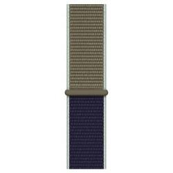 Apple - MWU12ZM/A accesorio de relojes inteligentes Grupo de rock Caqui Nylon