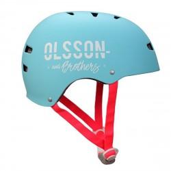 OLSSON and Brothers - S02CM0030 casco para bicicleta Casco clásico Casco para bicicleta urbana M/L Turquesa