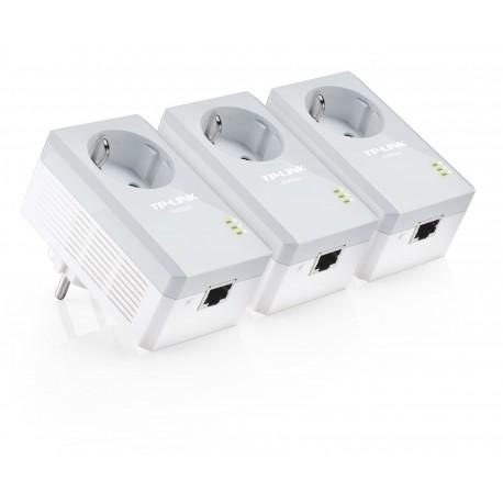 TP-LINK - TL-PA4010PT Kit 500Mbit/s Ethernet Color blanco 3pieza(s) adaptador de red powerline