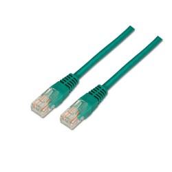 AISENS - A133-0195 cable de red 2 m Cat5e U/UTP (UTP) Verde