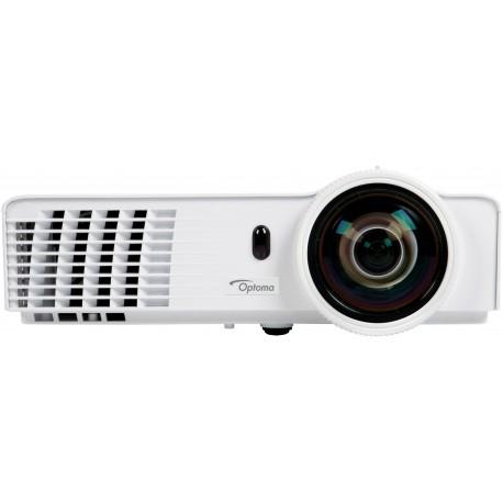 Optoma - GT760 Proyector para escritorio 3400lúmenes ANSI DLP WXGA (1280x800) 3D Color blanco videoproyector