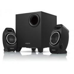 Creative Labs - A250 conjunto de altavoces 2.1 canales Negro
