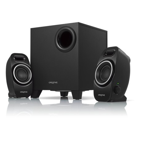 Creative Labs - A250 2.1channels Negro conjunto de altavoces
