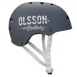 OLSSON and Brothers - S02CM0022 casco para bicicleta Casco clásico Casco para bicicleta urbana M/L Negro