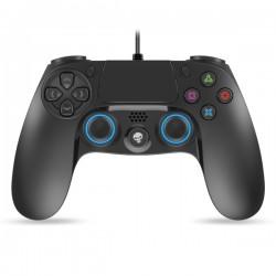 Spirit of Gamer - SOG-WXGP4 mando y volante Gamepad PC,PlayStation 4,Playstation 3 Analógico/Digital USB 2.0 Negro