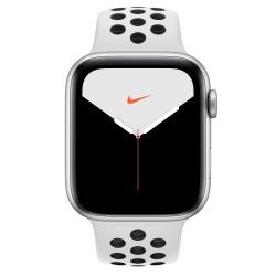 Apple - Watch Nike Series 5 OLED 44 mm Plata GPS (satélite)