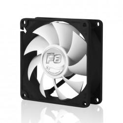 ARCTIC - F8 Carcasa del ordenador Ventilador 8 cm Negro, Blanco