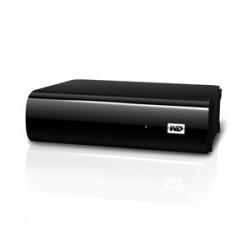 Western Digital - 1TB My Book AV-TV disco duro externo 1000 GB Negro