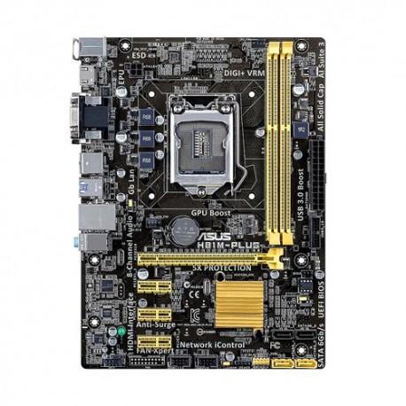 ASUS - H81M-PLUS Intel H81 LGA 1150 (Socket H3) Micro ATX placa base