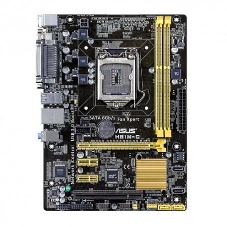 ASUS - H81M-C Intel H81 LGA 1150 (Socket H3) Micro ATX placa base