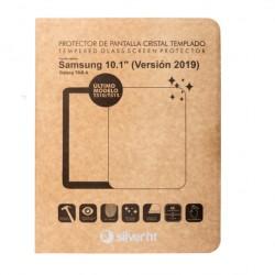 "SilverHT - Protector cristal templado para Samsung TAB A 2019"" (T510/T515)"