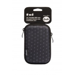 Smile - Funda de transporte para HDD 2.5'' Black Geometric