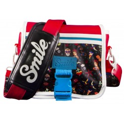 Smile - CAMERA BAG SIZE S + LENS CASE - PIN UP STYLE