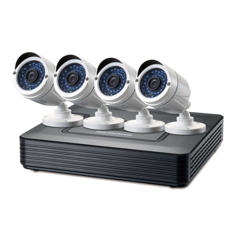 LevelOne - DSK-4001 kit de videovigilancia