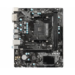 MSI - A320M-A PRO placa base Zócalo AM4 Micro ATX AMD A320 - 22388729