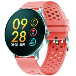 "Denver - SW-171ROSE reloj inteligente IPS 3,3 cm (1.3"") Plata"