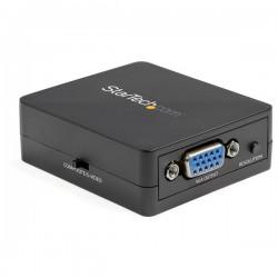 StarTech.com - Conversor Adaptador de Vídeo Compuesto a VGA con Escalador de Vídeo 1920x1200 - Mac y Win - Convertidor S-Video a